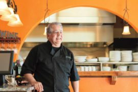 Eduardo Posada Chef and Owner of Posada Restaurant, Livermore