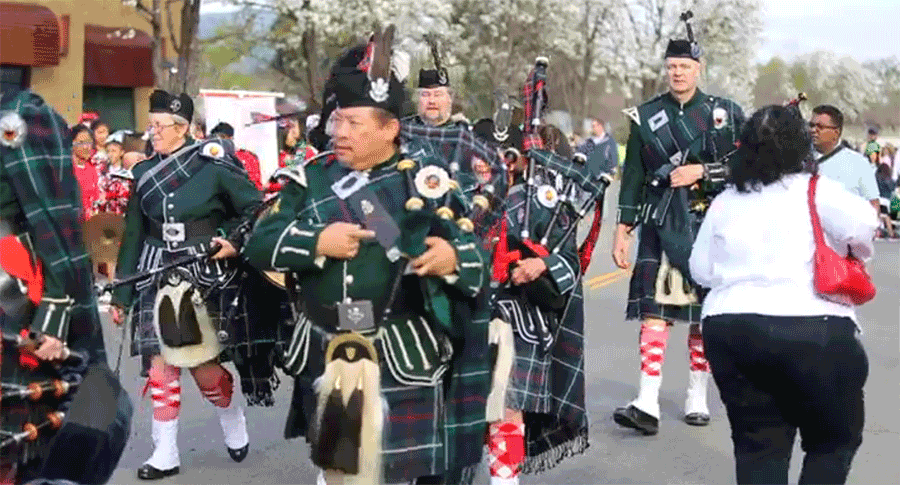 St. Patrick's Day in Dublin, California
