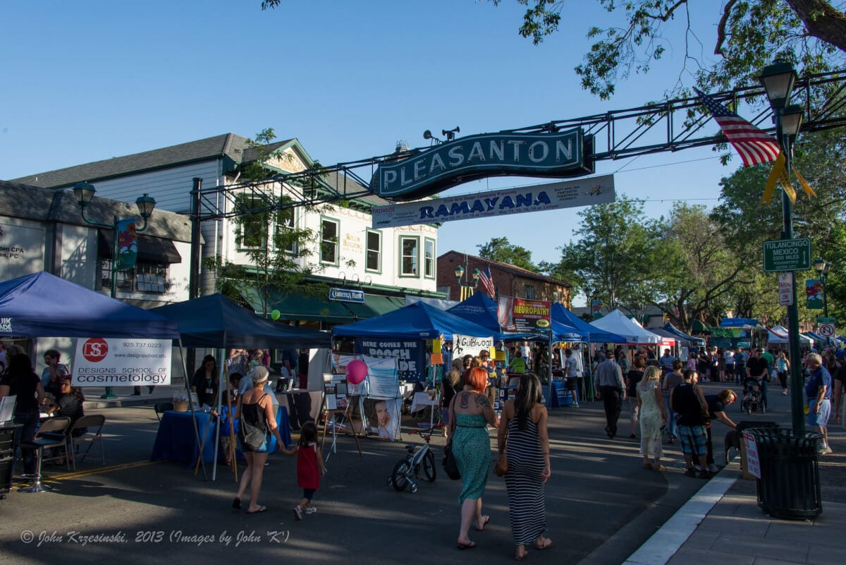 1st Wednesday Street Party in Pleasanton