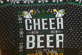 Spread Cheer With Beer Sweater
