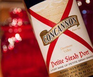 Concannon wine and valentine