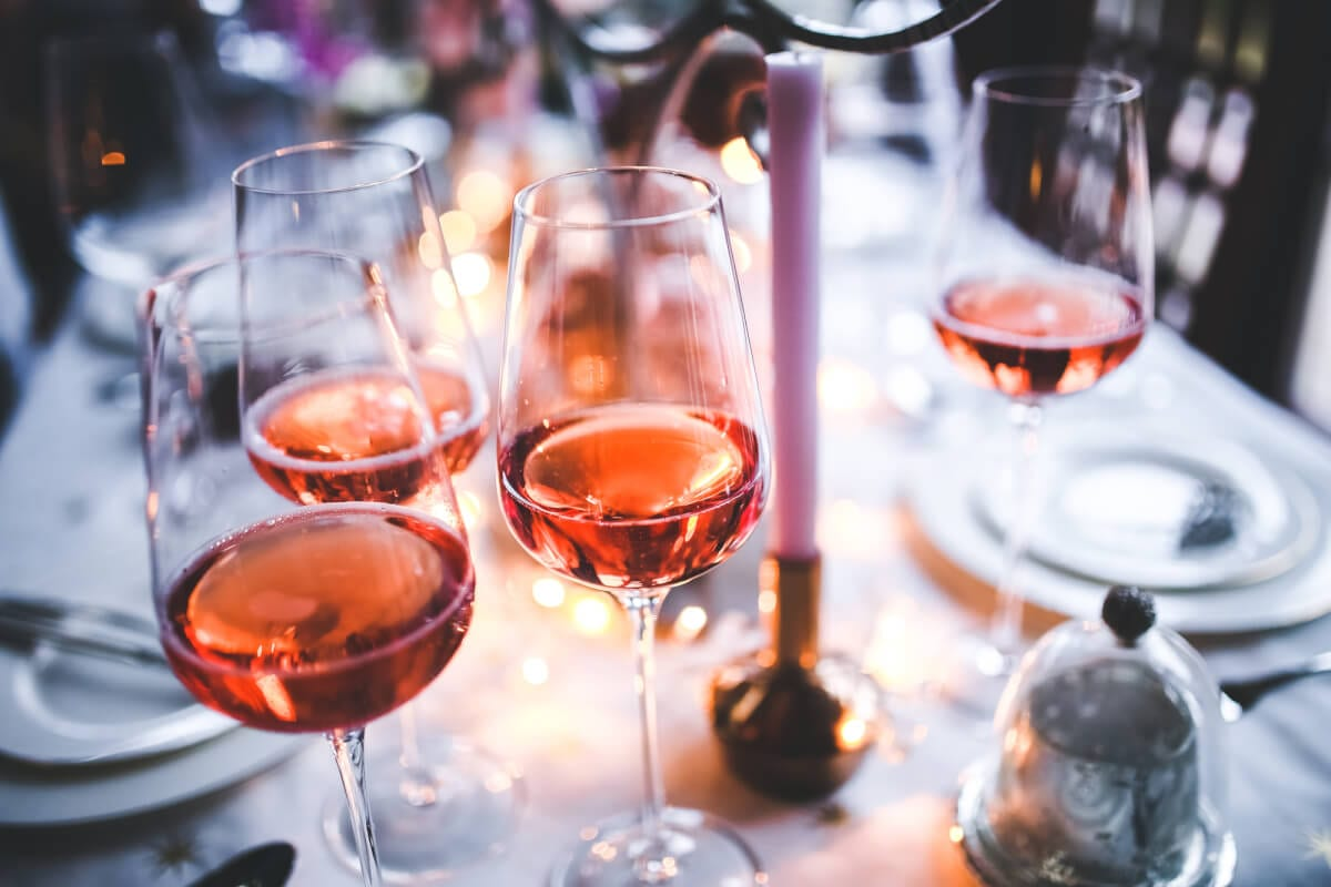 4 Wines to Help You Think Pink for Valentine's Day