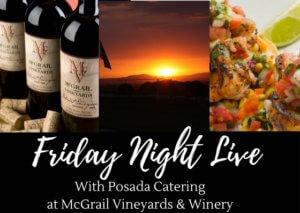 Fright Night Live - McGrail Vineyards - VisitTriValley