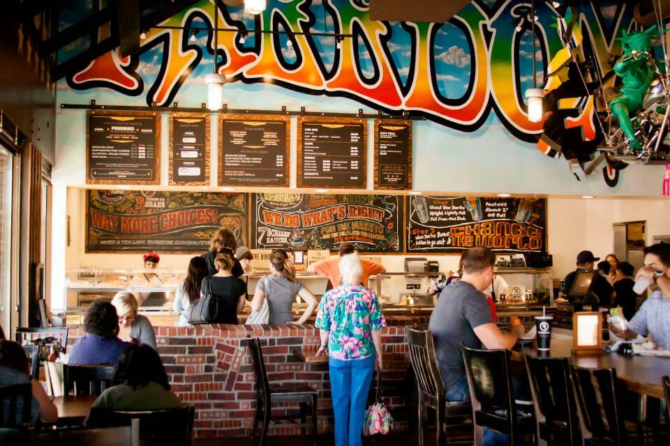 Freebirds World Burrito Dublin California - VisitTriValley