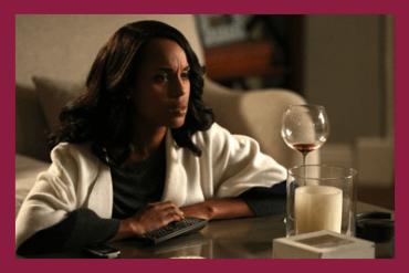 Olivia Pope & Red Wine