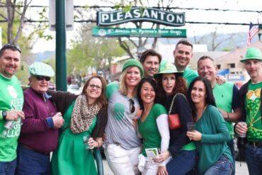 Pleasanton Downtown St. Patrick's Brew Crawl