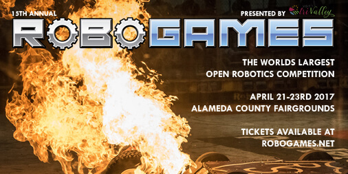 RoboGames 2017 | Presented by Visit Tri-Valley