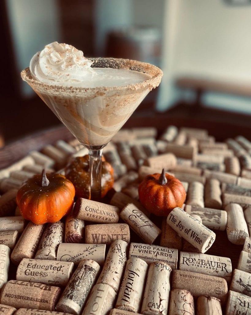 pumpkin pie martini from simply fondue