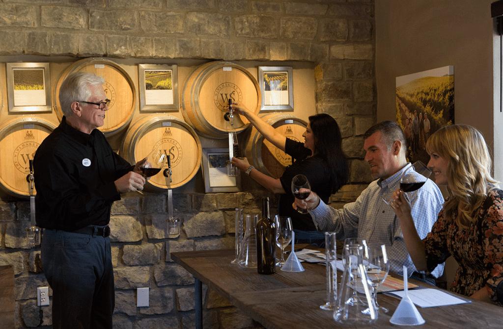 wente wine blending experience