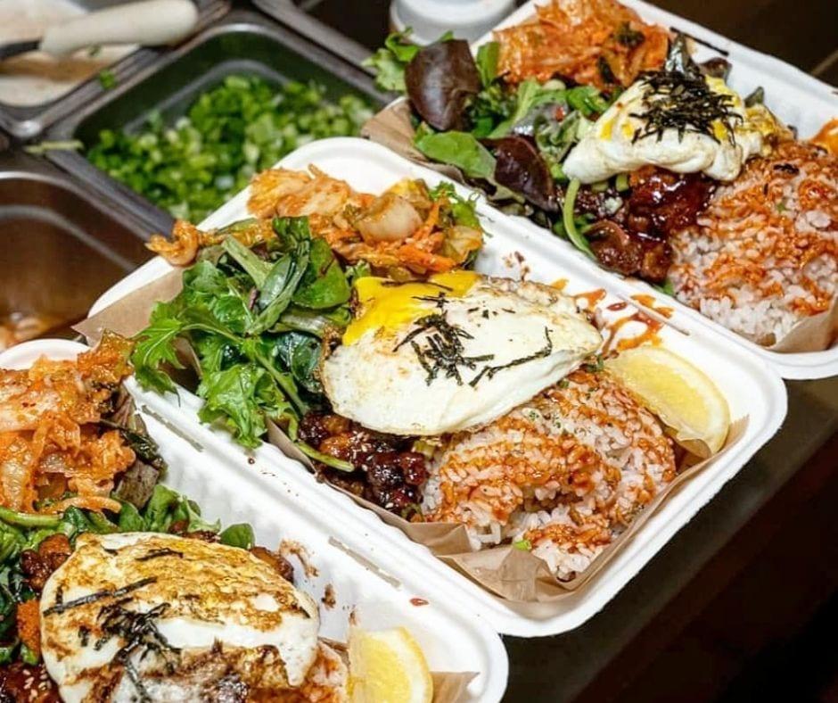 combination bento box lunch