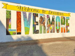 welcome to livermore mural